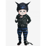 Danganronpa V3 Killing Harmony Ryoma Hoshi Black Blue Cosplay Costume