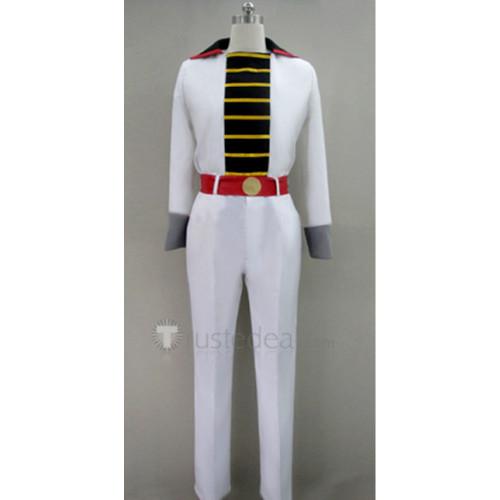 Gintama Gintoki Sakata Blue and White Cosplay Costume