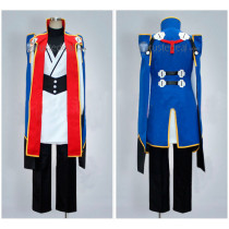 BLAZBLUE Jin Kisaragi Blue Cosplay Costume