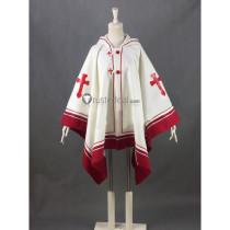 Sword Art Online Asuna White Cloak Cape Cosplay Costume