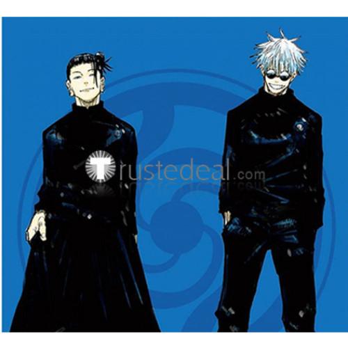 Jujutsu Kaisen Sorcery Fight Satoru Gojo Suguru Getou Black Cosplay Costumes 2