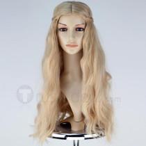 Maleficent Film Sleeping Beauty Disney Princess Aurora Blonde Cosplay Wig