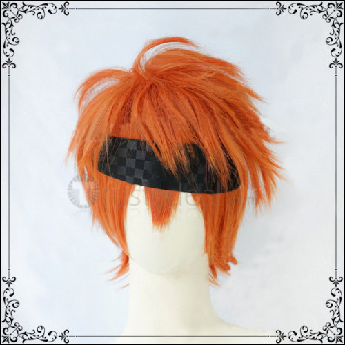 D.Gray Man Lavi Rabi Orange Cosplay Wig