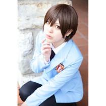 Ouran High School Host Club Fujioka Haruhi Brown Cosplay Wig