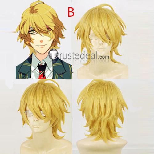 Uta no Prince-sama Natsuki Shinomiya Brown Blonde Cosplay Wig