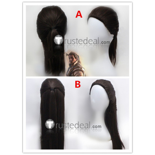 Assassin's Creed RatonhnhakE:ton Connor Kenway Brown Cosplay Wigs