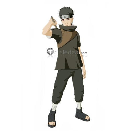 Naruto Anbu Shisui Uchiha Black Cosplay Costume
