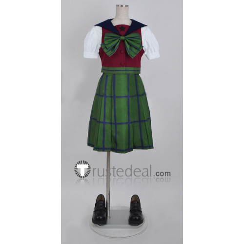 Sailor Moon Michiru Kaiou Hotaru Tomoe Summer Girls School Uniform Cosplay Costume