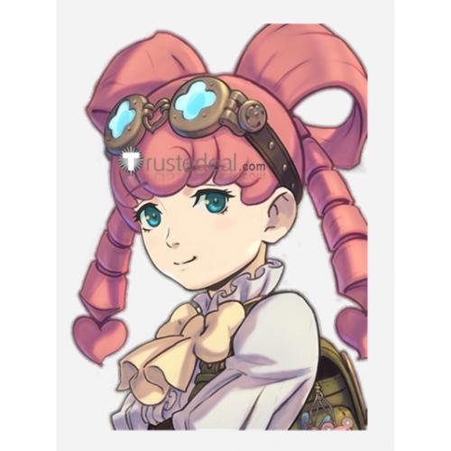 Dai Gyakuten Saiban Naruhodou Ryounosuke no Bouken Steampunk Iris Watson Pink Cosplay Wig