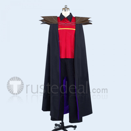 The Devil Is A Part Timer Satan Jacob MgRonald's Working Uniform Cosplay Costume