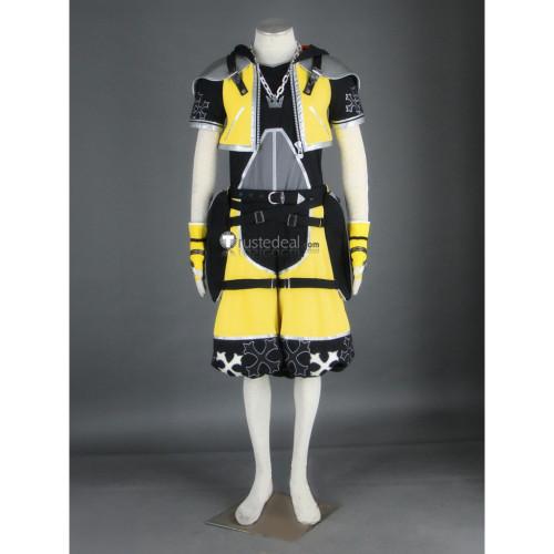 Kingdom Hearts II Sora Master Form Yellow Cosplay Costume