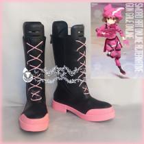 Sword Art Online GGO Alternative Kohiruimaki Karen LLENN Cosplay Shoes Boots
