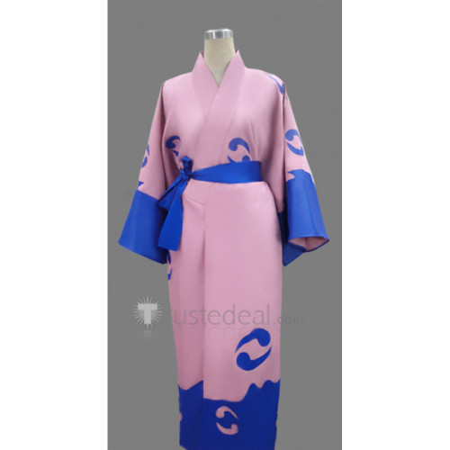 Gintama Minamito Sui Cosplay Costume Kimono