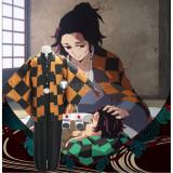 Kimetsu no Yaiba Demon Slayer Tanjiro Father Tanjuro Kamado Cosplay Costume