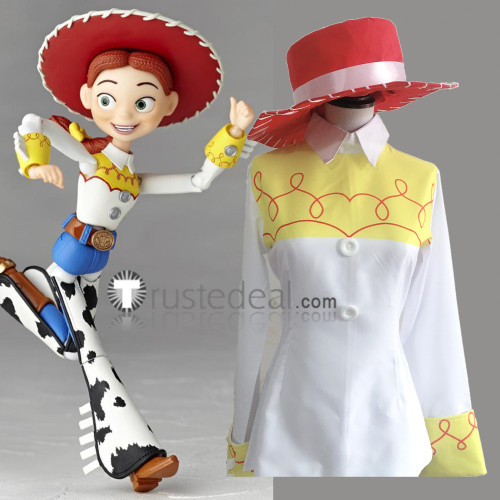 Disney Toy Story Jessie Holiday Cosplay Costume
