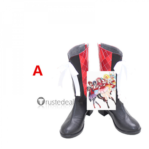 Zombie Land Saga Sakura Ai Saki Yugiri Lyli Tae Junko Franchouchou Idols Cosplay Shoes Boots