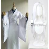 Kimetsu no Yaiba Demon Slayer Older Sister Spider Demon White Kimono Cosplay Costume