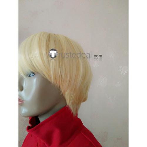 Devilman Crybaby Ryo Asuka Blonde Cosplay Wig