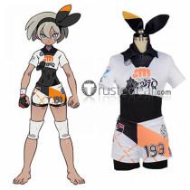 Pokemon Sword and Shield Fighting Bea Cosplay Costume