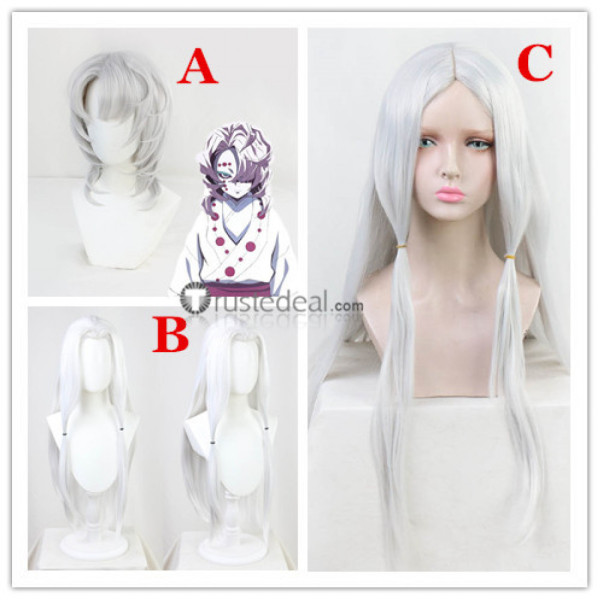 Kimetsu no Yaiba Demon Slayer Mother Spider Demon Rui Older Sisiter Spider Demon Mitsuri Kanroji Cosplay Wigs