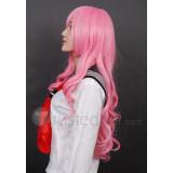 Baka to Tesuto to Shokanjuu Himeji Mizuki Pink Cosplay Wig
