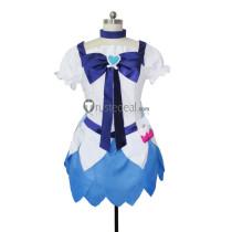 HeartCatch PreCure Cure Marine Blue Cosplay Costume