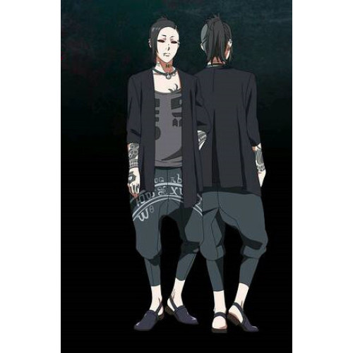 Tokyo Ghoul Uta Necklace Cosplay Accessories