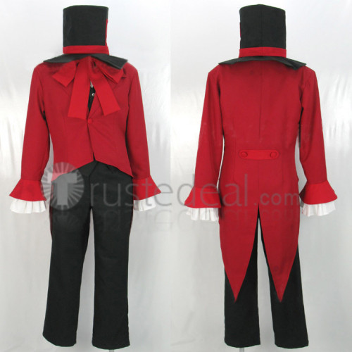 Ouran High School Host Club Mad Hatter Tamaki Suoh Cosplay Costume 2
