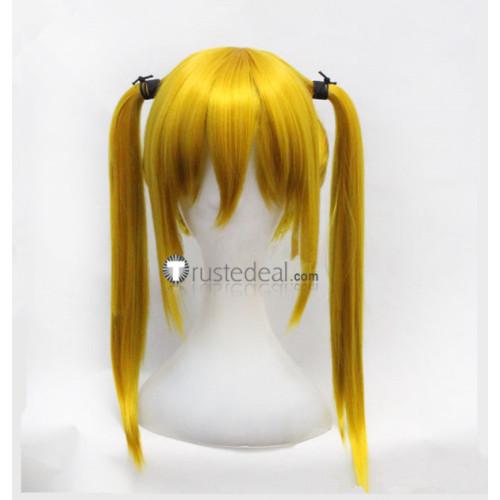 Vampire Knight Touya Rima Golden Orange Cosplay Wig
