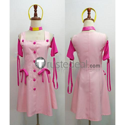 Jojo's Bizarre Adventure Diamond is Unbreakable Sugimoto Reimi Pink Cosplay Costume
