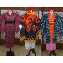 Kimetsu no Yaiba Demon Slayer Amane Tengen Hinokami Kagura Breathing Tanjiro Kimono Cosplay Costumes