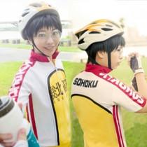 Yowamushi Pedal Sohoku High Bicycle Club Bicycle Race Suit Onoda and Imaizumi Cosplay Costume