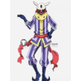 Tensei Shitara Slime Datta Ken Laplace Demon Lord Clown Cosplay Costume