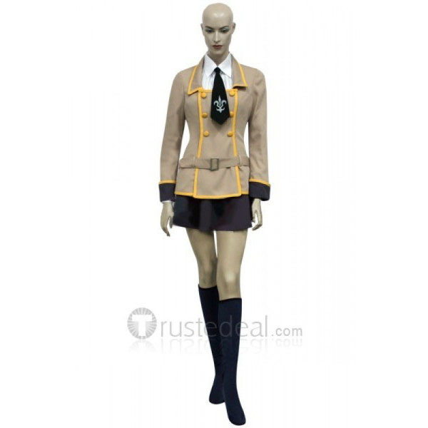 Code Geass Lelouch of the Rebellion Shirley Fenette and Milly Ashford School Uniform Cosplay Costume