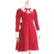 Hetalia: Axis Powers Liechtenstein Red Cosplay Costume