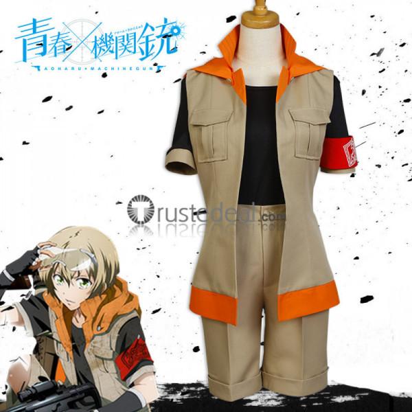 Aoharu Kikanjuu Aoharu Machinegun Hotaru Tachibana Cosplay costume