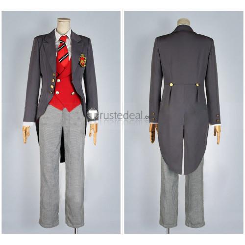 Black Butler Kuroshitsuji Public School Arc Weston College P4 Edgar Redmond Cosplay Costume