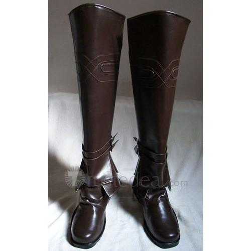 Assassin's Creed Brotherhood Ezio Brwon Cosplay Boots Shoes