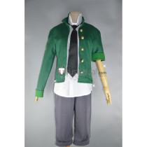 League of Legends LOL Academy Ekko Green Jacket Cosplay Costume