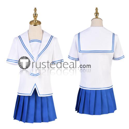 Fruits Basket Tohru Honda Summer School Uniform Cosplay Costumes