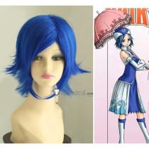 Fairy Tail Juvia Lockser Blue Short Cosplay Wig