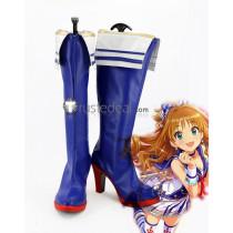 The IDOLM@STER Cinderella Girls Starlight Stage Summer Carnival Princess Akane Hino Mizuki Kawashima Cosplay Boots shoes