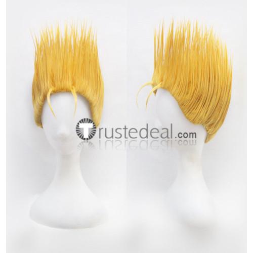 The King of Fighters Benimaru Nikaido Blonde Cosplay Wig