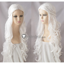 Alice in Wonderland The White Queen White Blonde Cosplay Wigs