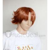 Baka to Tesuto to Shokanjuu Baka Test Yoshii Akihisa Brown Cosplay Wig