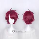 Act! Addict! Actors! A3! Spring Troupe Sakuma Sakuya Red Cosplay Wig