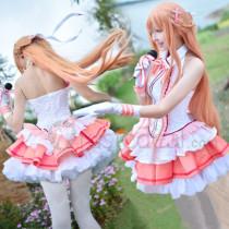 Sword Art Online Idol Asuna Cosplay Costume