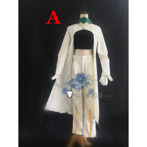 Jojo's Bizarre Adventure Diamond Is Unbreakable Rohan Kishibe White Cosplay Costume 2