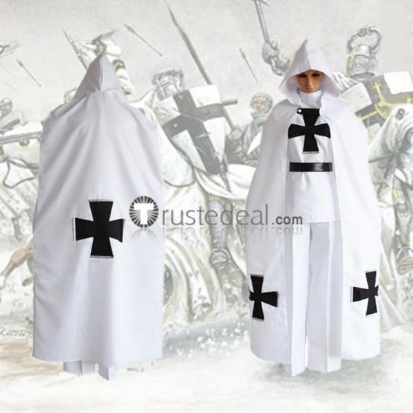 Hetalia Axis Powers Prussia Gilbert Beilschmidt White Teutonic Knights Uniform Cosplay Costume