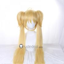 Shugo Chara Utau Hoshina Blonde Ponytails Cosplay Wig 120cm